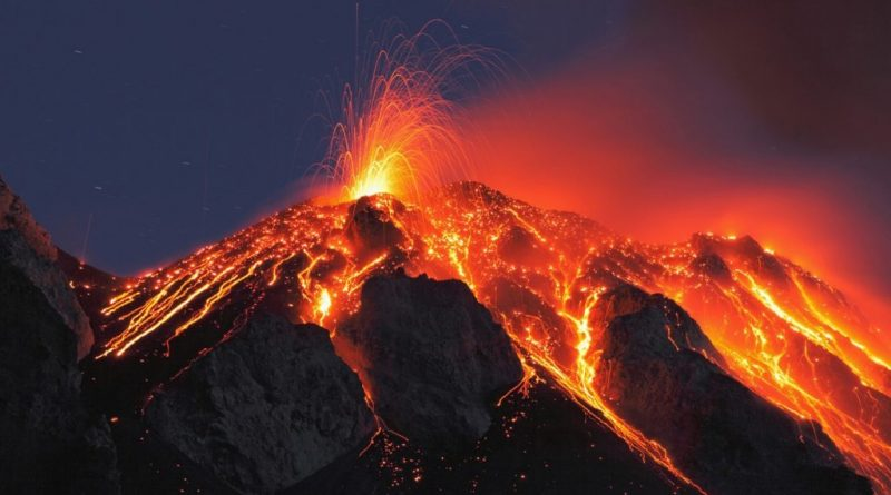 Earth's History of Planet-Altering Eruptions